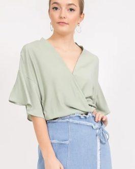 Blusa – Envolvente Verde