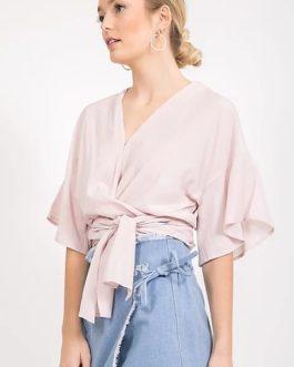 Blusa – Envolvente Rosa