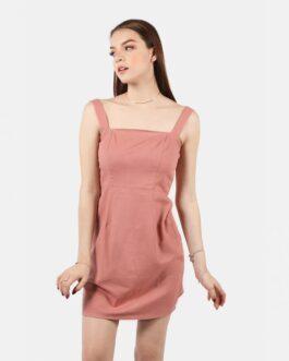 Vestido Botones Espalda – Palo de Rosa
