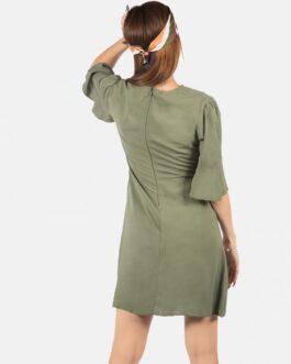 Vestido Mangas – Verde