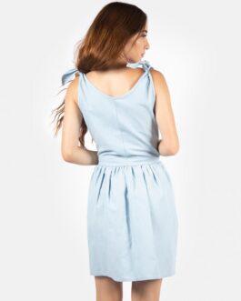 Vestido Romantico – Azul Cielo
