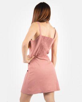Vestido Botones al Frente – Palo de Rosa