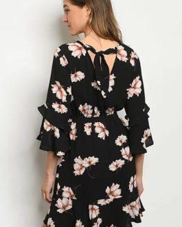 Colección Lara – Negro Flores