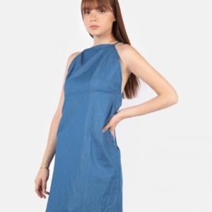 Vestido Azul – Tirantes