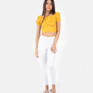 Blusa Dots – Amarillo